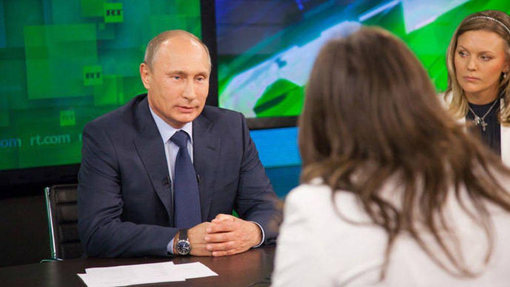 Foto: Entrevista a Putin en RT