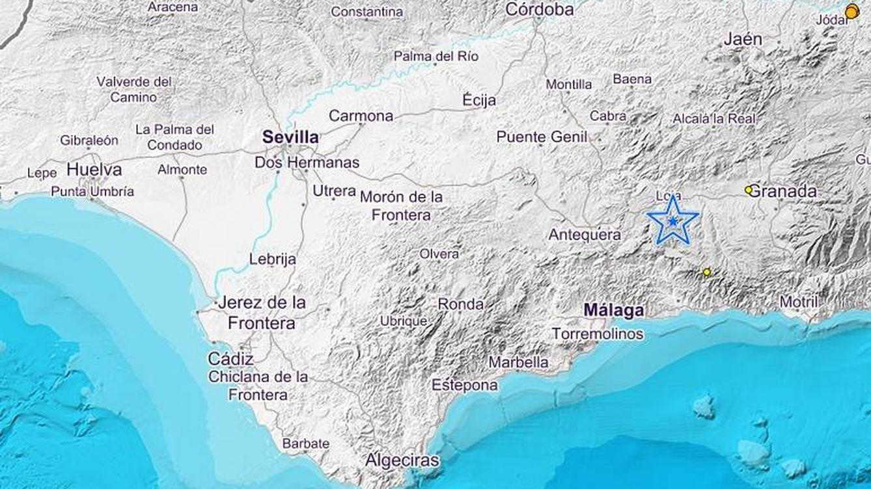 Registrado un ligero terremoto en varias localidades de Jaén