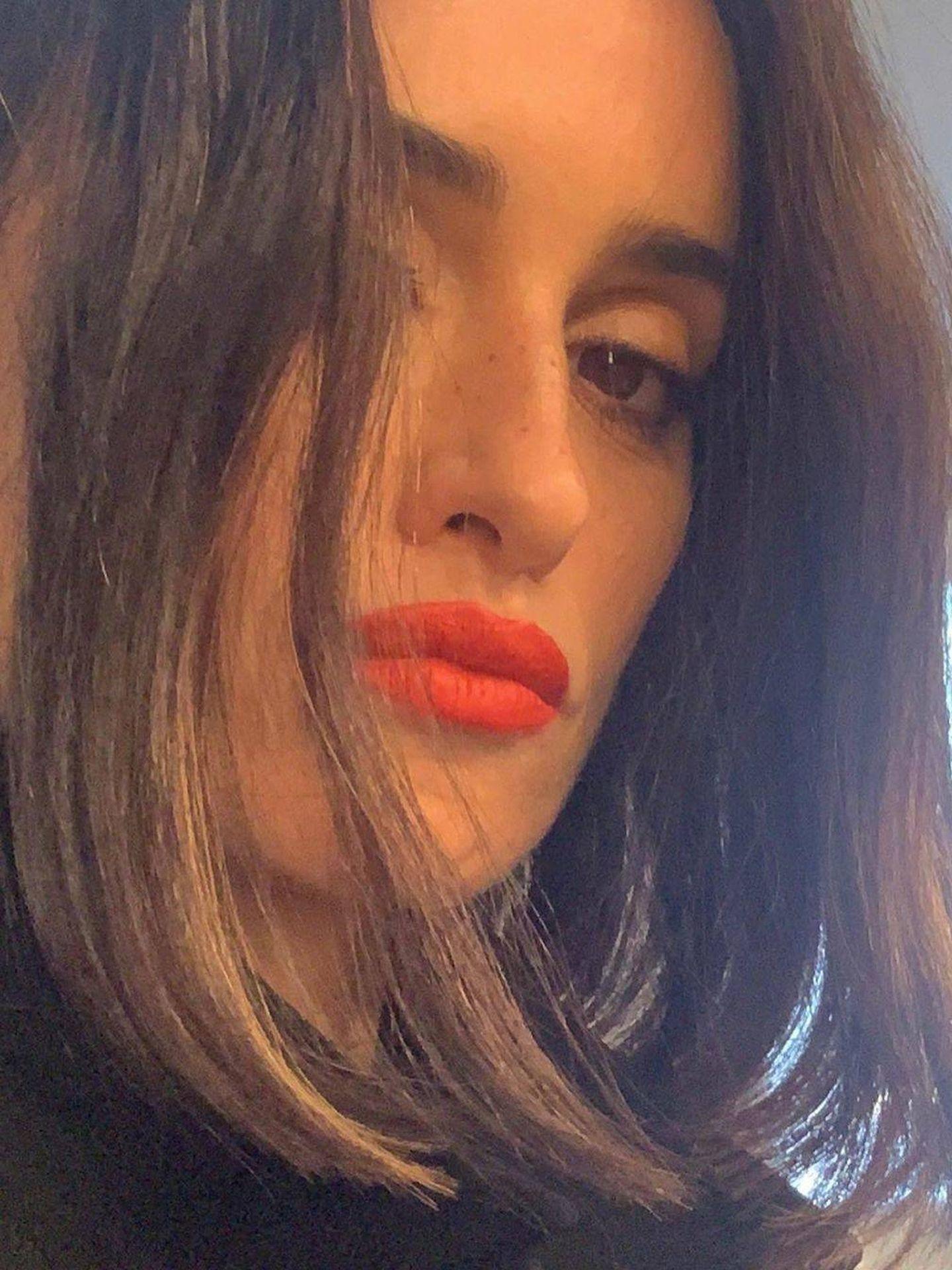 Detalle del maquillaje de Penélope Cruz. (Instagram @penelopecruzoficial)