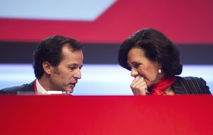 Ana Botín se opone a la regulación tras discrepar con el BCE y la Fed