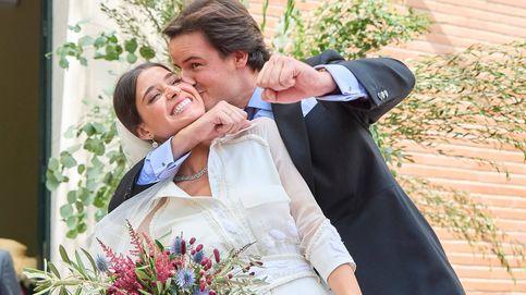 Santiago Benjumea y Lucía M. Alcalde ya se han casado: escenario aristocrático, dos vestidos y muchos vips