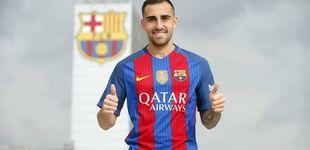 Post de Alcácer es nuevo jugador del Barcelona y Munir jugará cedido en el Valencia