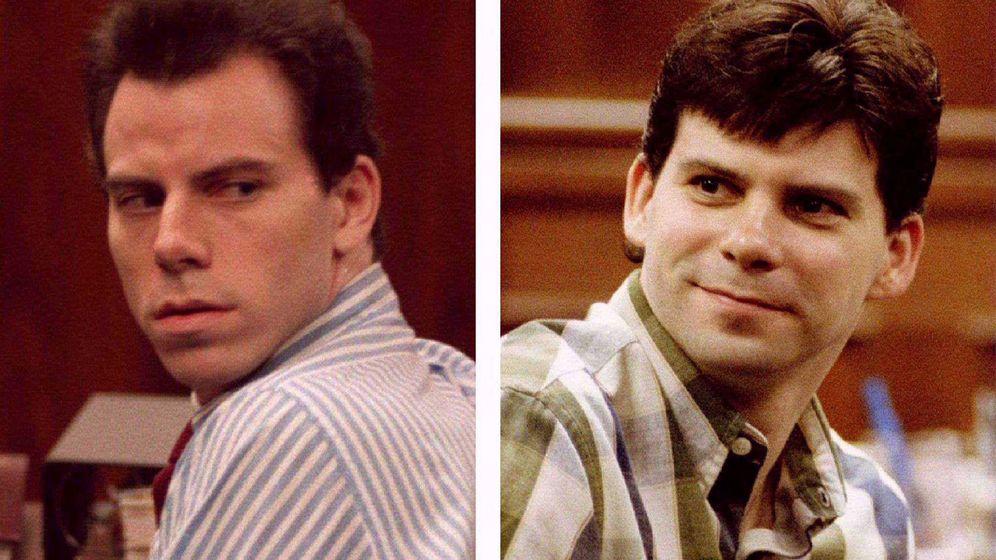 Foto: Erik (i) y Lyle Menendez (d), en el momento de ser juzgados por asesinato. (Reuters)