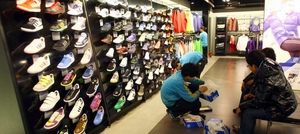 Foto: Williams se vio obligado a aceptar un trabajo en una tienda de deportes como esta. (Corbis)