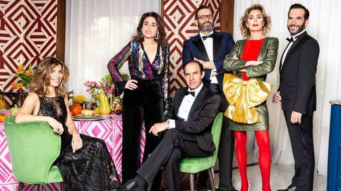 La cena navideña de Ágatha, Paloma Segrelles, Xandra Falcó y los hermanos Sandoval