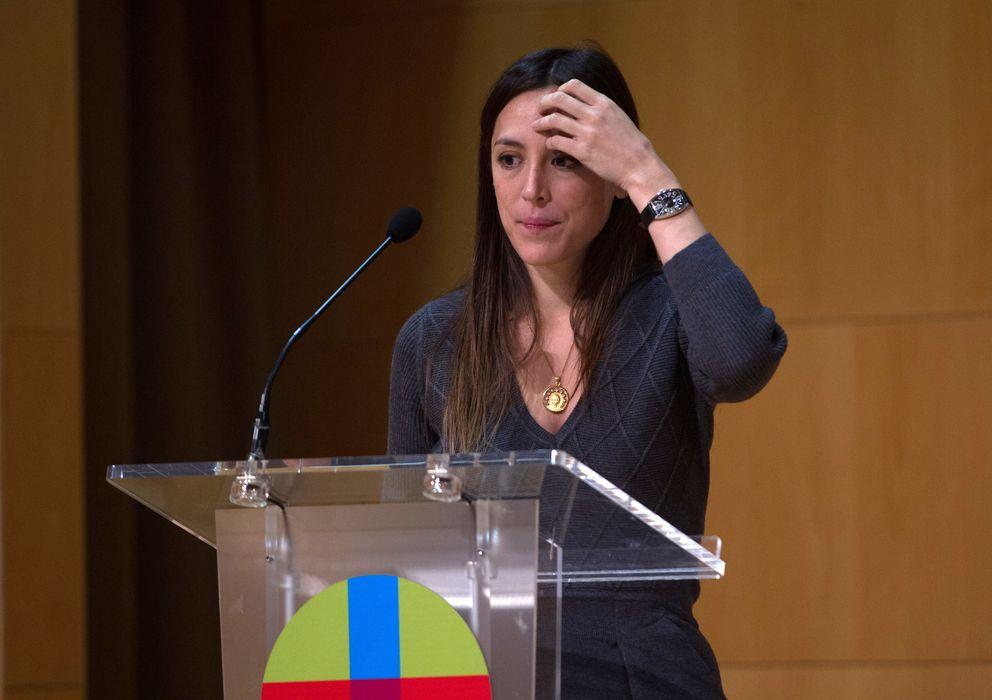 Foto: Tamra Falcó este miércoles en Sevilla. (I.C.)
