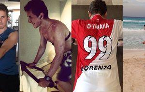 Lorenzo, aislamiento y trabajo físico para empezar de cero en el Mundial