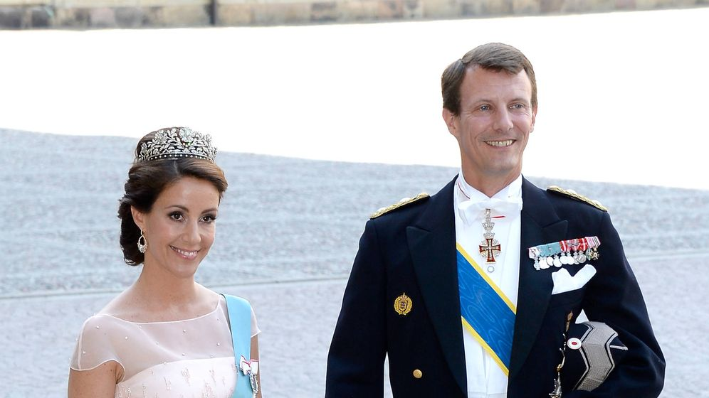 Foto: Los príncipes daneses en una foto de archivo. (Getty)