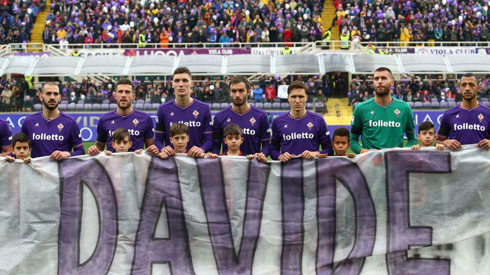 Capitano per sempre!: el homenaje de la Fiorentina al fallecido Davide Astori