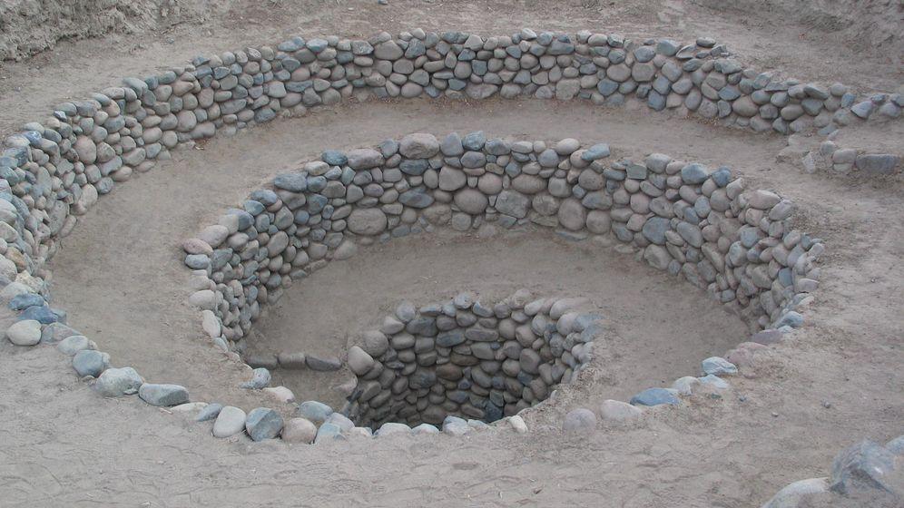 Foto: Vista de un puquío cerca de Nazca. (Wikicommons)