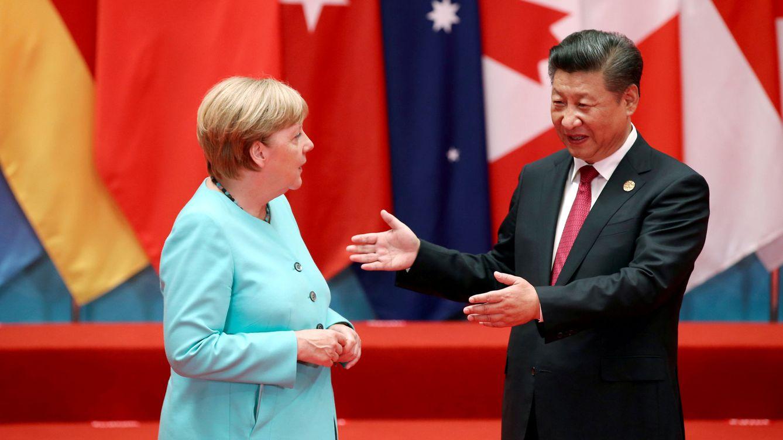 Merkel se reúne con Xi, dispuesto a consolidar relación estratégica ante el G20