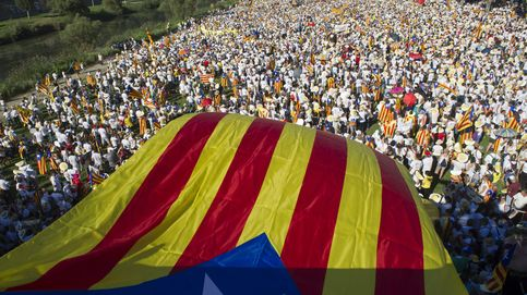 875.000 personas participan en la Diada, según autoridades locales