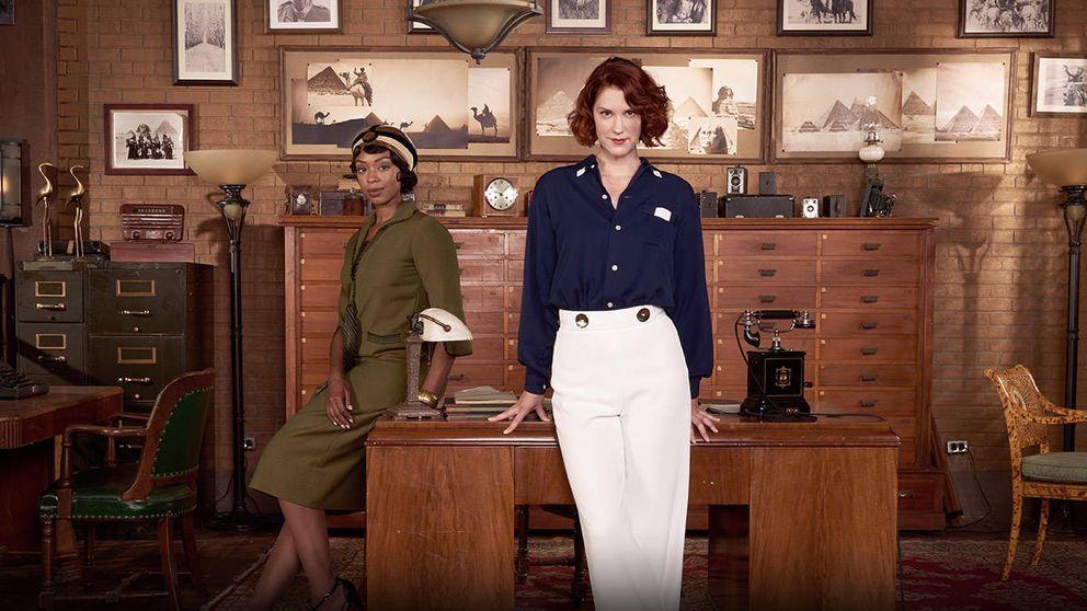 Cosmo estrena este domingo la primera temporada de 'Frankie Drake Mysteries'
