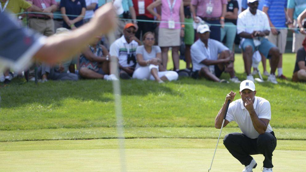 Retazos mayestáticos de Tiger Woods y la lucha de Gonzalo Fernández Castaño