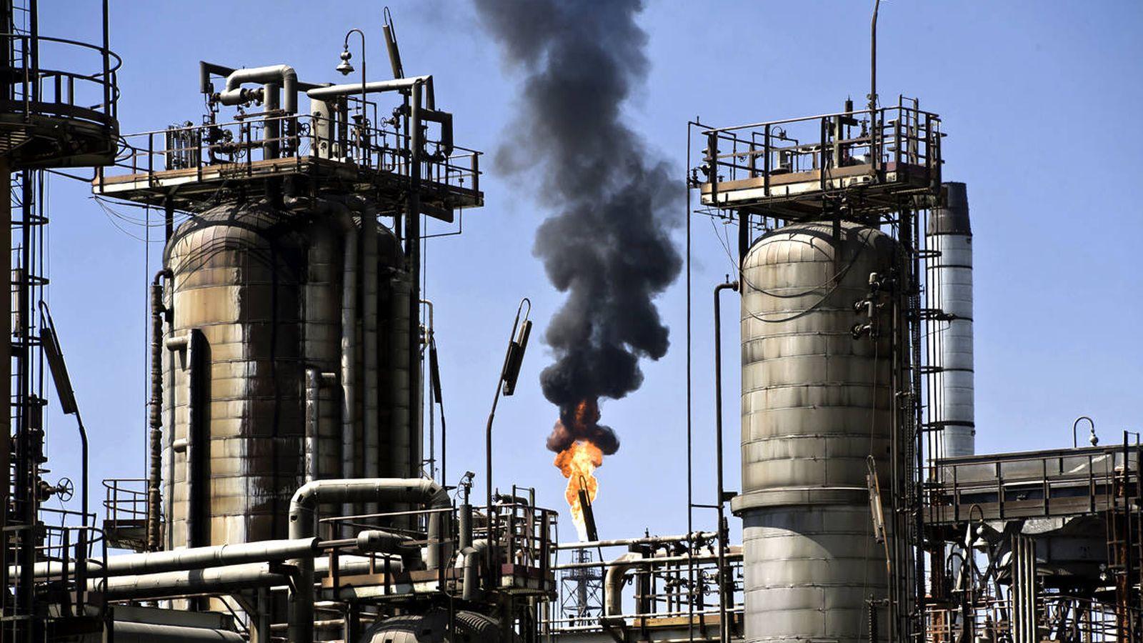 Foto: La refinería Al-Zour (Efe)
