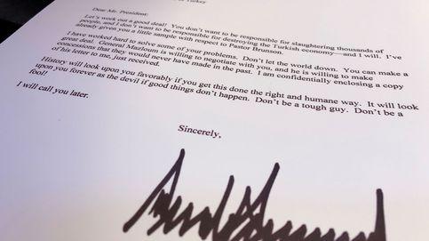 No seas tonto: la carta sobre Siria que Trump envió a Erdogan y él tiró a la basura