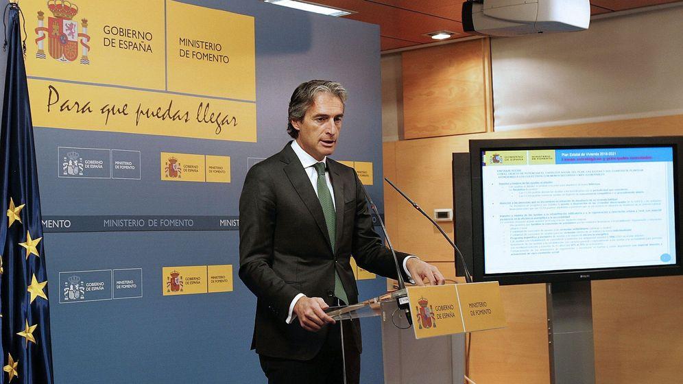 Foto: Íñigo de la Serna, ministro de Fomento.
