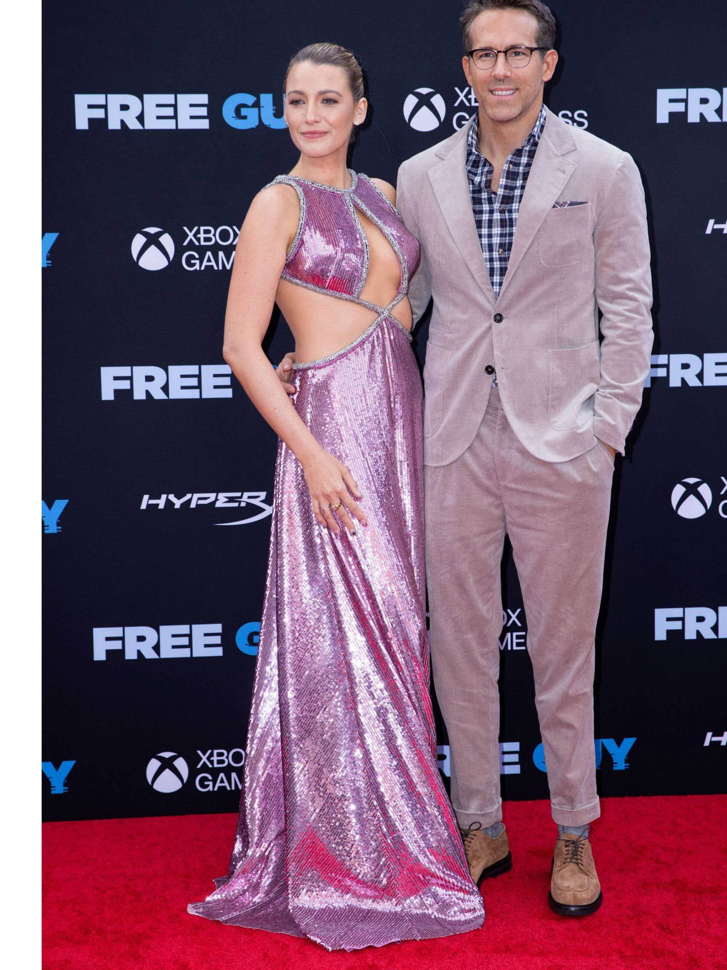 Ryan Reynolds y Blake Lively. (Reuters)