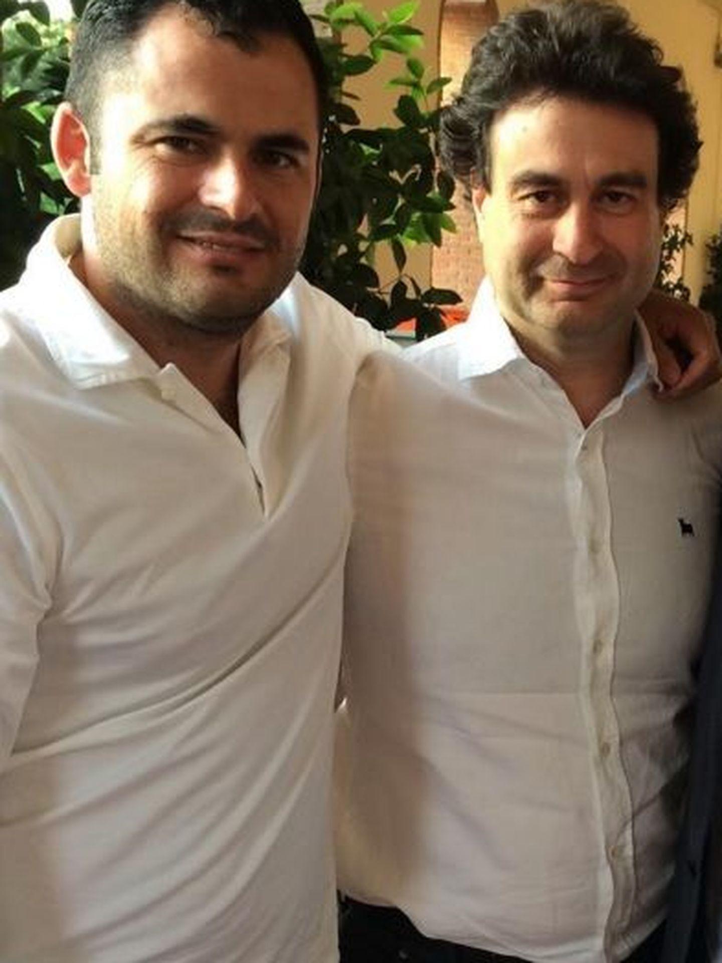 Con Pepe Rodríguez