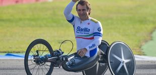 Post de Alex Zanardi y