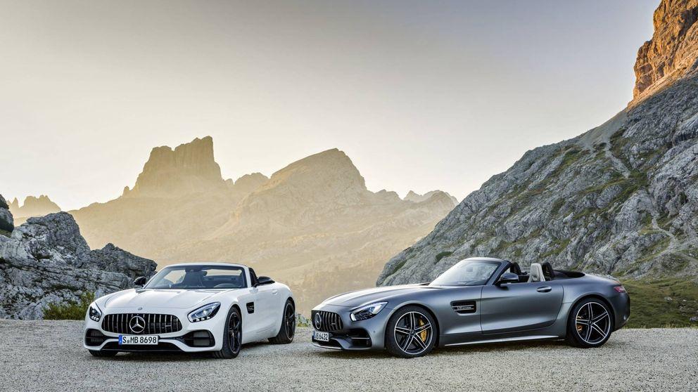 Mercedes AMG GT Roadster, altas prestaciones a cielo abierto
