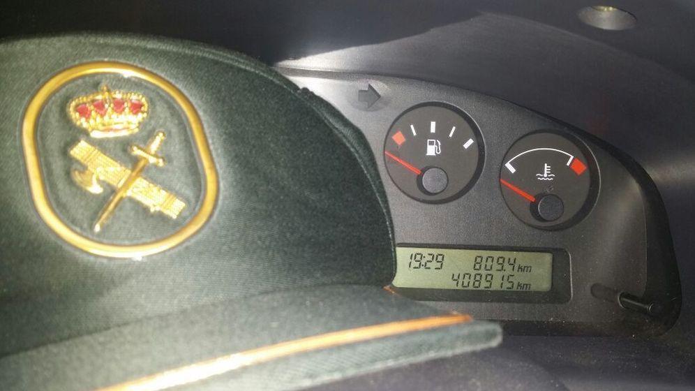 Foto: Los vehículos de la Guardia Civil envejecen: 400.000 kilómetros y subiendo