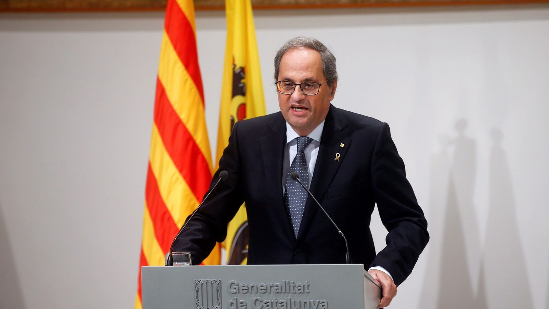 El presidente de la Generalitat, Quim Torra. (EFE)