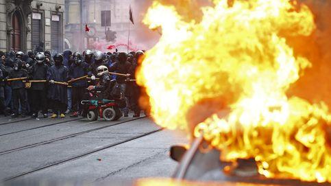 El Giro arranca con el miedo de un final infernal por la revolución del 'Black Bloc'