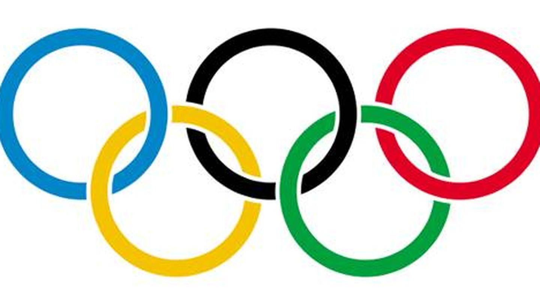 Logotipo de los Juegos Olímpicos.