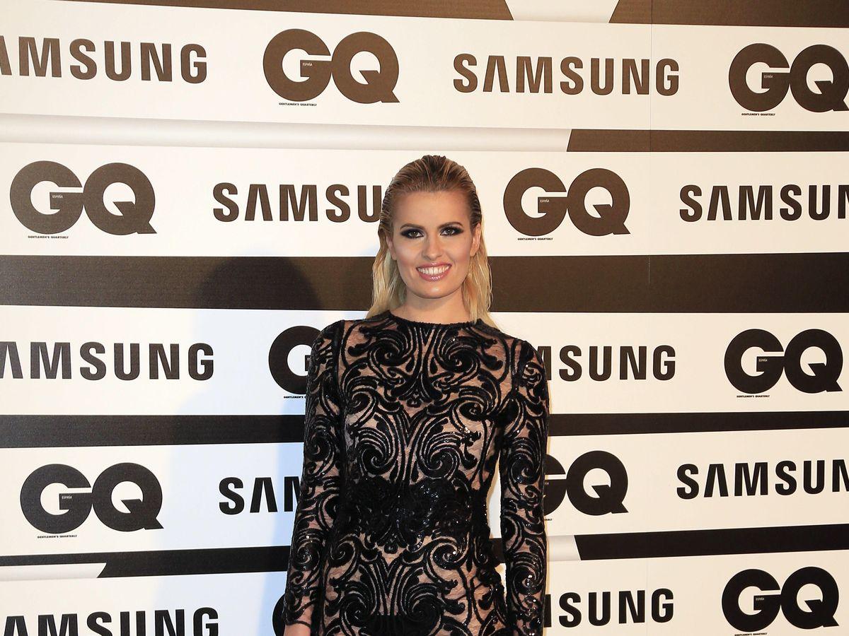 Foto: La presentadora, en una entrega de premios. (Archivo)