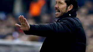 El Atlético de Madrid del Cholo Simeone es candidato a la Liga de tres