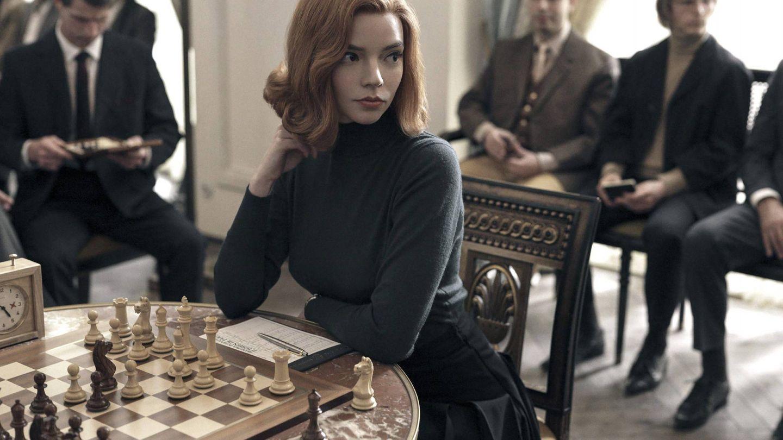Anya Taylor-Joy, en 'Gambito de dama'. (Netflix)