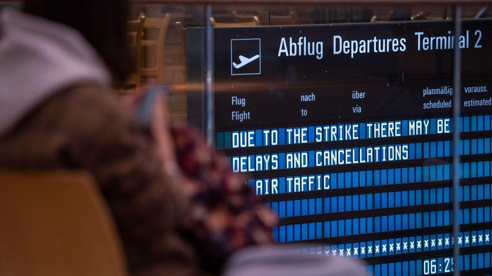 Foto: Una falsa alarma provoca la cancelación de 190 vuelos en Alemania. (EFE)