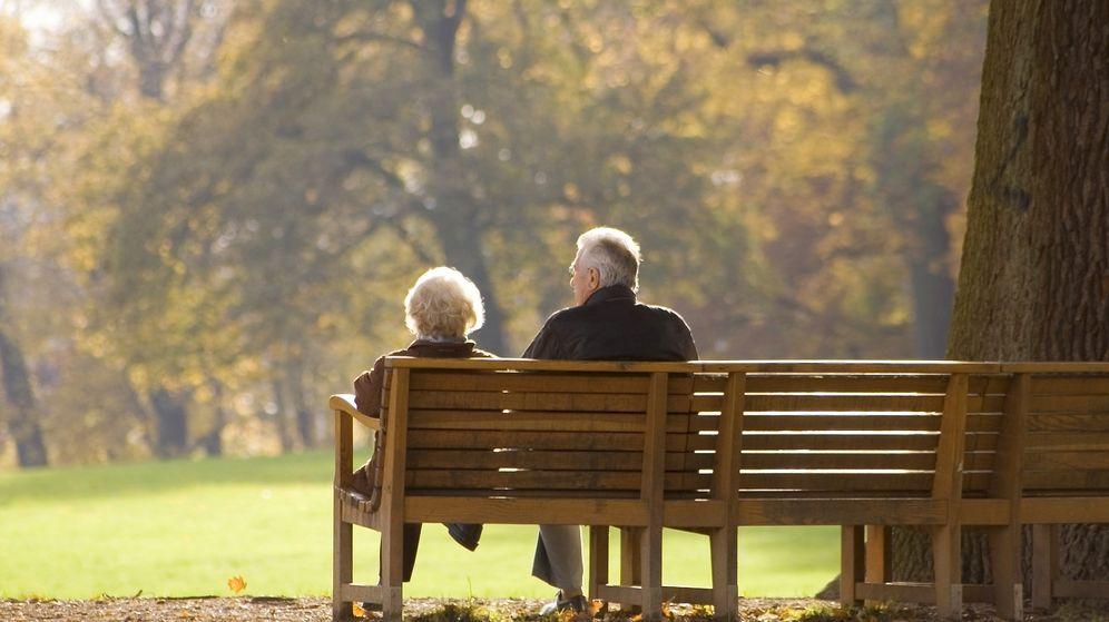 Foto: Una pareja de ancianos. (EC)