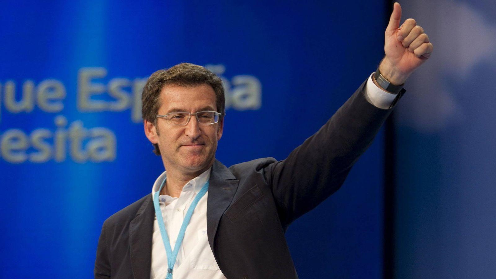 Foto: El presidente de la Xunta de Galicia, Alberto Nuñez Feijoó. (EFE)