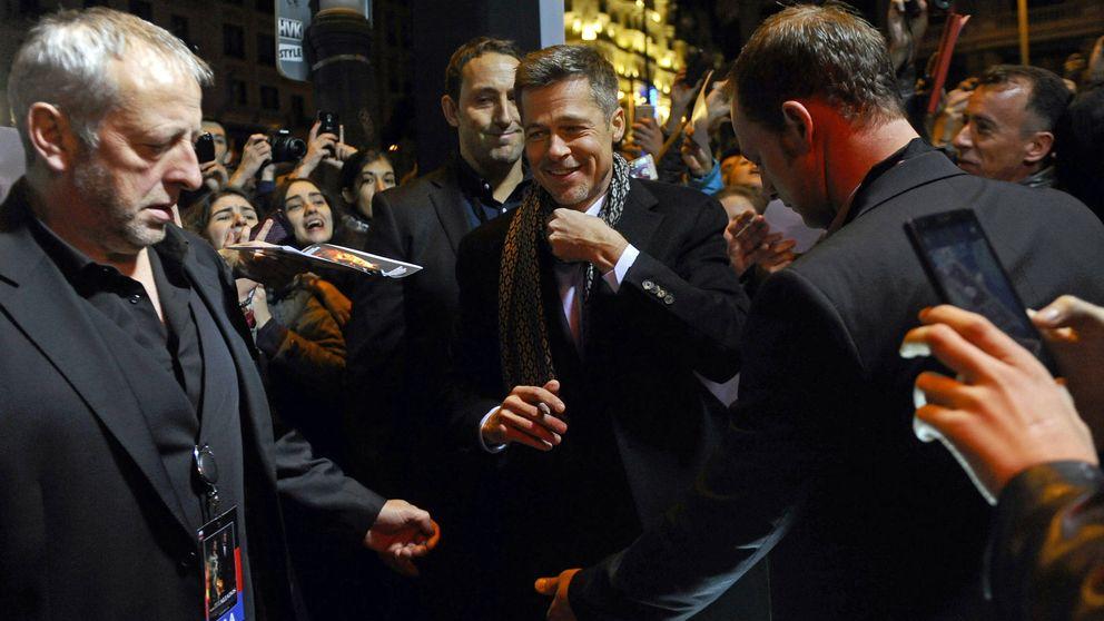 Brad Pitt y Marion Cotillard paralizan Madrid con el estreno de 'Aliados'