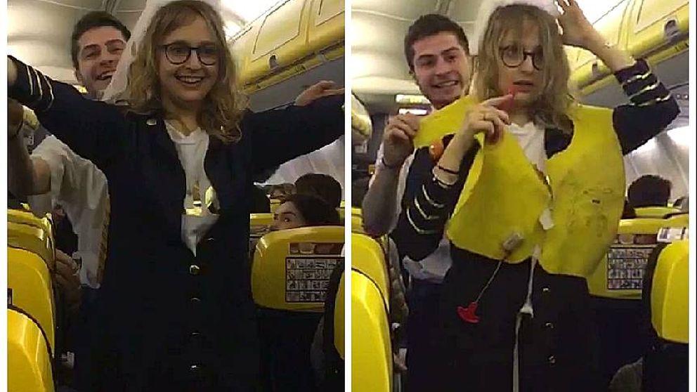 Lo que pasa cuando te emborrachas y subes en un vuelo de Ryanair