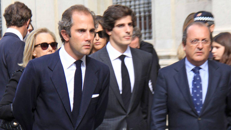 Foto: Luis Martínez de Irujo junto a su primo, Fernando Fitz-James (Gtres)
