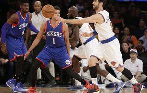Calderón vuelve a jugar y hace sonreír a los Knicks en una noche terrenal de LeBron