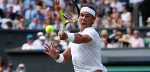 Post de Wimbledon en directo: Del Potro - Nadal se enfrentan en cuartos de final