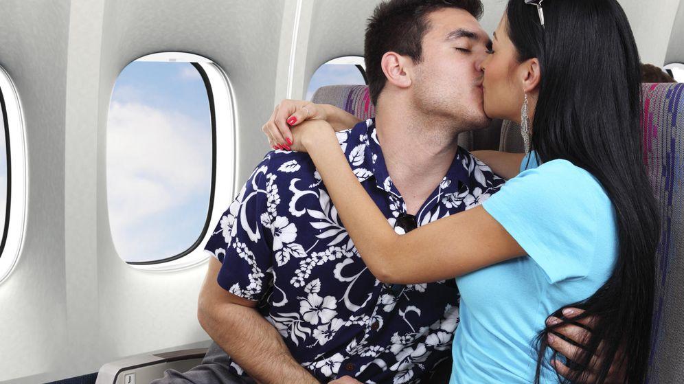 Graban a pareja haciendo chiki chiki en un vuelo de avión