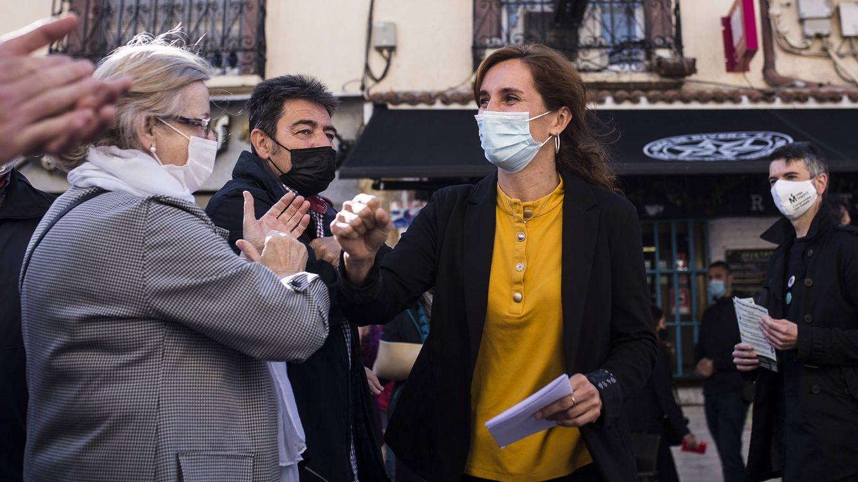Foto: Acto electoral de Más Madrid en Getafe. (Alejandro Martínez Vélez)