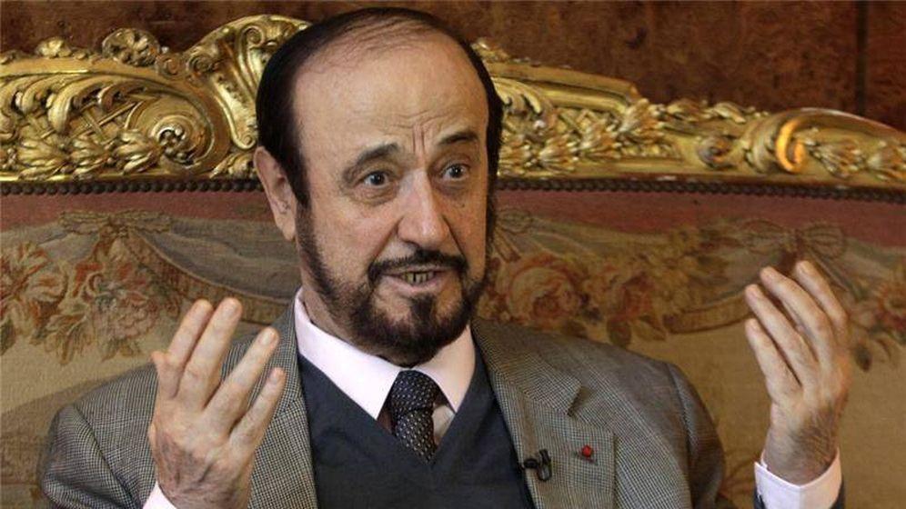 Foto: Rifaat Al Assad, tío del presidente de Siria Bachar Al Assad.