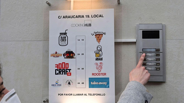 Cerco a las cocinas fantasma en el centro de Madrid: no podrán superar los 350 metros