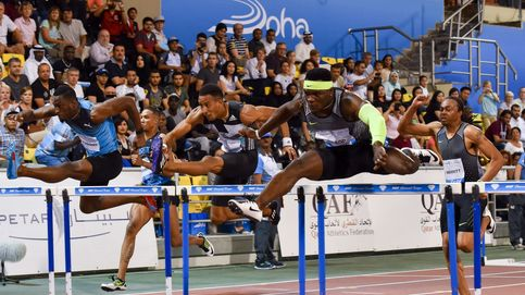 Orlando Ortega bate el récord de España de 110 metros vallas en Doha