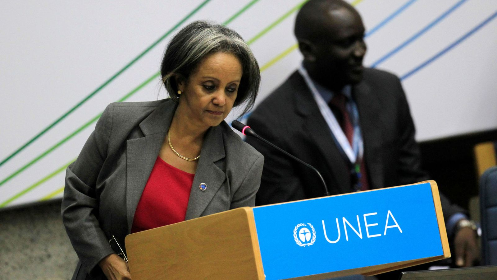 Foto: Sahle-Work Zewde. (Reuters)