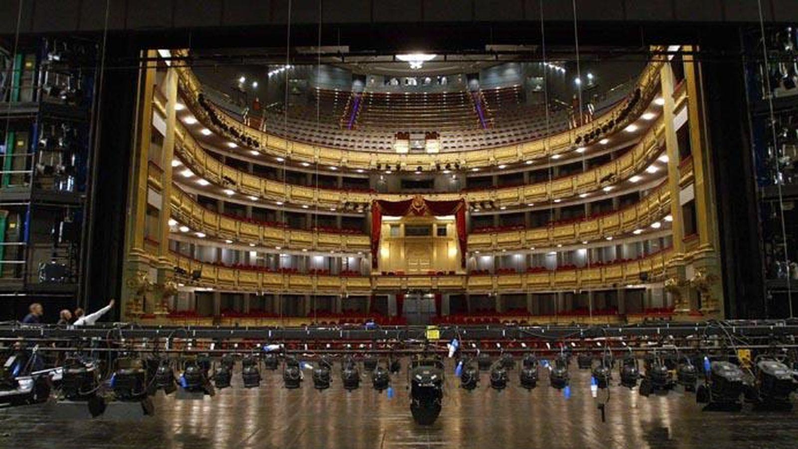 Foto: Imagen desde el escenario del Teatro Real (Teatro Real)