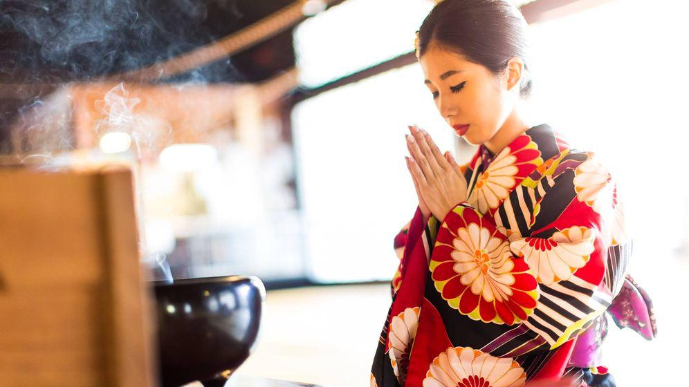 Foto: Algunas prácticas rituales japonesas están directamente integradas en la vida cotidiana. (iStock)