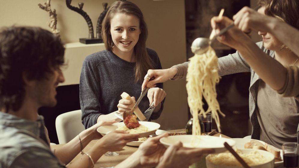 Foto: La pasta es un alimento que es mejor evitar por la noche. (Corbis)