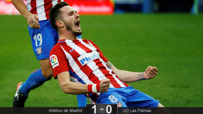 Foto: Un golazo de Saúl que valen tres puntos (Sergio Pérez/Reuters).